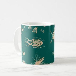 Insekten kopieren, tiefes Opalgrün Tasse