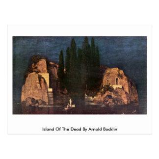 Insel der Toten durch Arnold Bocklin Postkarte