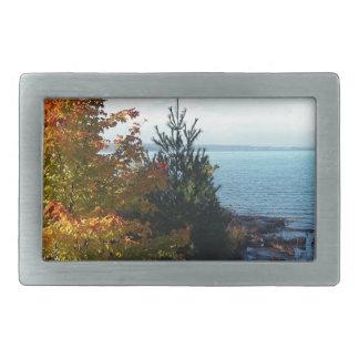 Insel-Farben, St- Josephinsel, Ontario, Kanada Rechteckige Gürtelschnalle