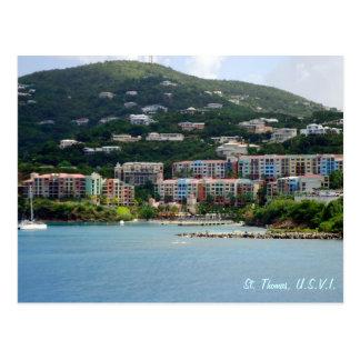 Insel-Farbgewohnheit Postkarte