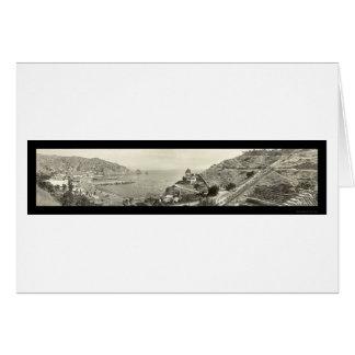 Insel-Foto 1914 Sankt Catalina Karte
