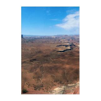 Insel im Himmel Canyonlands Nationalpark Utah Acryl Wandkunst