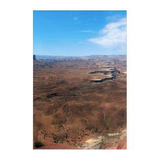 Insel im Himmel Canyonlands Nationalpark Utah Acryldruck