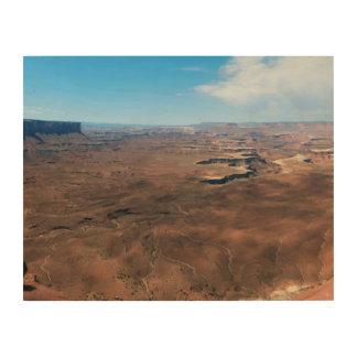 Insel im Himmel Canyonlands Nationalpark Utah Holzdruck