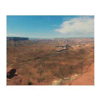 Insel im Himmel Canyonlands Nationalpark Utah Holzleinwand