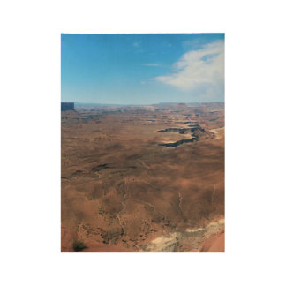 Insel im Himmel Canyonlands Nationalpark Utah Holzposter