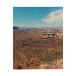 Insel im Himmel Canyonlands Nationalpark Utah Holzwanddeko