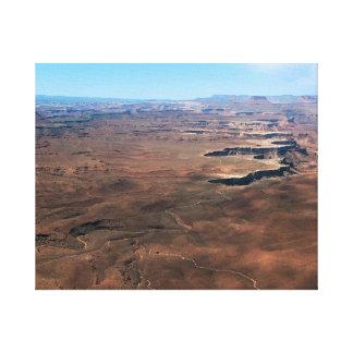 Insel im Himmel Canyonlands Nationalpark Utah Leinwanddruck
