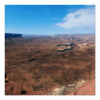 Insel im Himmel Canyonlands Nationalpark Utah Poster