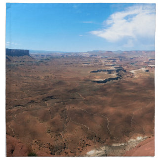 Insel im Himmel Canyonlands Nationalpark Utah Stoffserviette