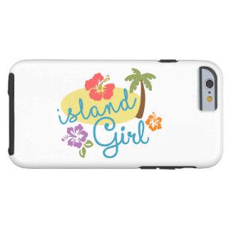 Insel-Mädchen Tough iPhone 6 Hülle