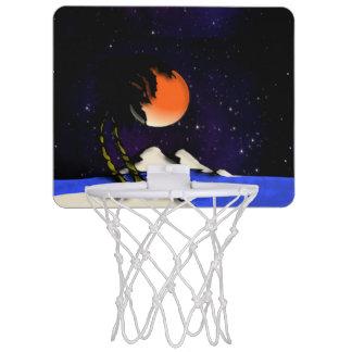 Insel-Nachtentwurf Mini Basketball Ring