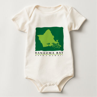 Insel Oahus Hawaii Hanauma Bucht Baby Strampler