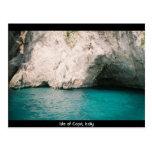 Insel von Capri, Italien Postkarte