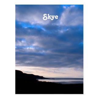 Insel von Skye Postkarte