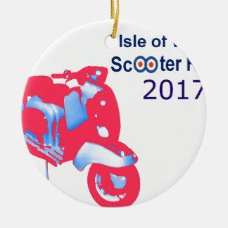 Insel von Wight-Roller-Kundgebung 2017 Keramik Ornament