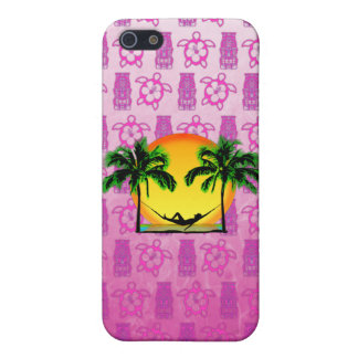 Insel-Zeit iPhone 5 Cover