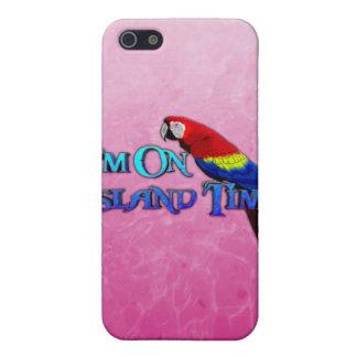 Insel-Zeit-Papagei Schutzhülle Fürs iPhone 5