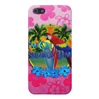 Insel-Zeit-Sonnenuntergang iPhone 5 Cover