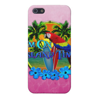 Insel-Zeit-Sonnenuntergang iPhone 5 Hülle