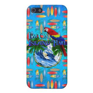 Insel-Zeit-Surfen iPhone 5 Case