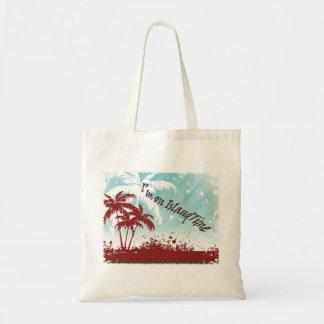 Insel-Zeit-Taschen-Tasche Tragetasche