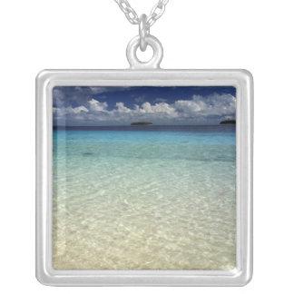 Insellandschaft, Vava'u Insel, Tonga Versilberte Kette