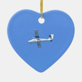 Inseln von Scilly Skybus Keramik Herz-Ornament