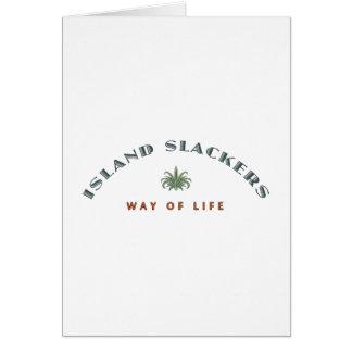 Inselslacker-Lebensart Karte