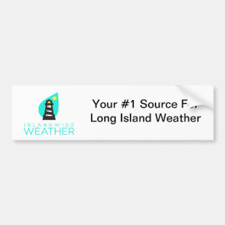 Inselweiter Wetter-Autoaufkleber Autoaufkleber