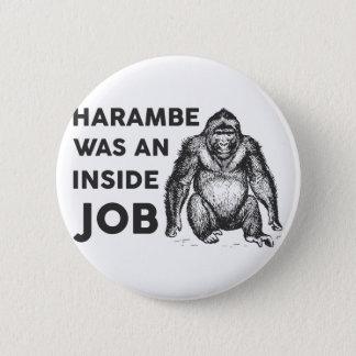 Insider-Job Harambe Runder Button 5,1 Cm