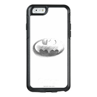 Insignien des Batman-Symbol-|, die Logo zeichnen OtterBox iPhone 6/6s Hülle