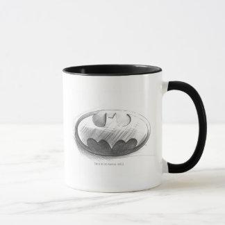 Insignien des Batman-Symbol- , die Logo zeichnen Tasse