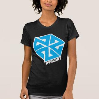 Inspiracon Blau auf Weiß T-Shirt