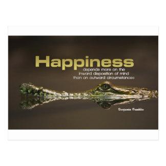 Inspiration | Benjamin Franklin III Postkarte