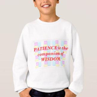 INSPIRATION: Klugheits-Geduld Sweatshirt