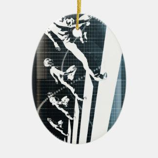 Inspiration oder inspirierend Ideen als Geschäft Keramik Ornament