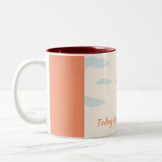 Inspiration Zweifarbige Tasse