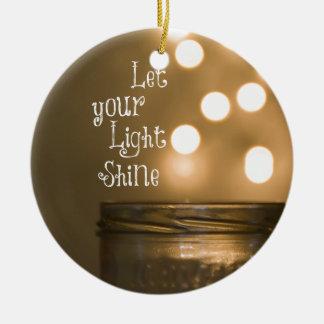 Inspirational Bibel-Vers-christliches Zitat Keramik Ornament