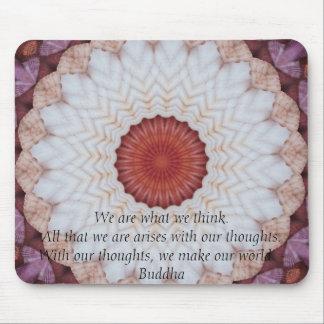 INSPIRATIONAL buddhistisches Zitat, Sprichwort Mousepads