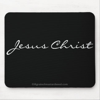 Inspirational christliches mousepads