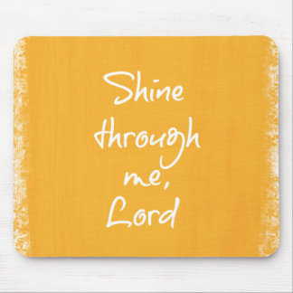 Inspirational christliches mousepads