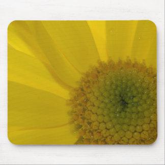 Inspirational gelbe Blume Mauspad