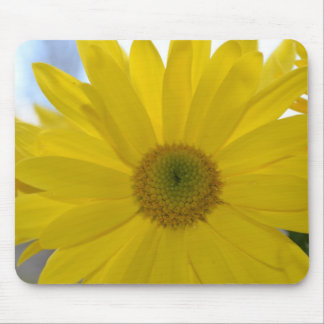 Inspirational gelbe Blume Mousepad
