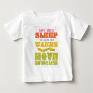 Inspirational Kunst - lassen Sie ihren Schlaf Baby T-shirt
