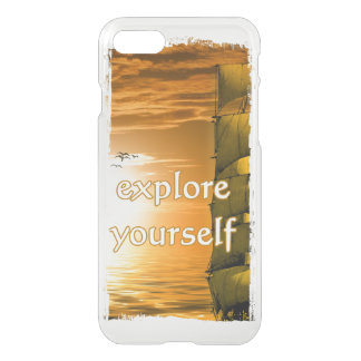 inspirational motivierend Zitat des Vintagen iPhone 8/7 Hülle