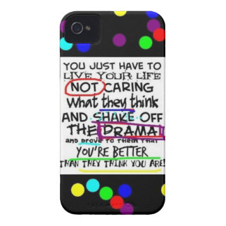 Inspirational/motivierend Zitat iphone 4 Fall Case-Mate iPhone 4 Hülle