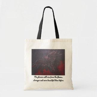 Inspirational Phoenix-Taschen-Tasche Tragetasche