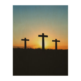 Inspirational Querjesus-Glauben-Liebe-Kunst Holzwanddeko