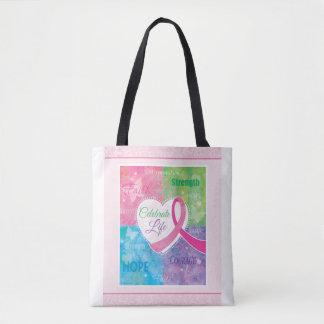 Inspirational rosa Band-Taschen-Tasche Tasche
